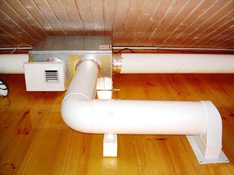 Вентиляция в ванной в доме