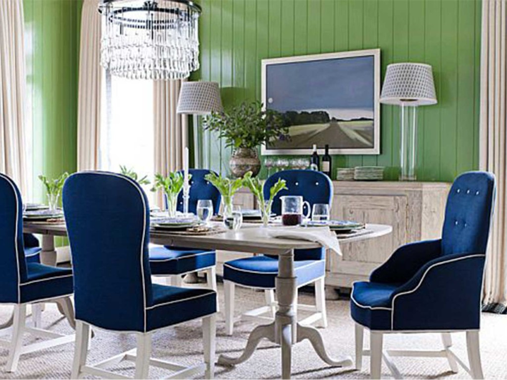 Зеленая мебель