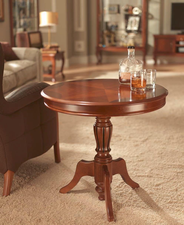 Классический кофейный столик из дерева