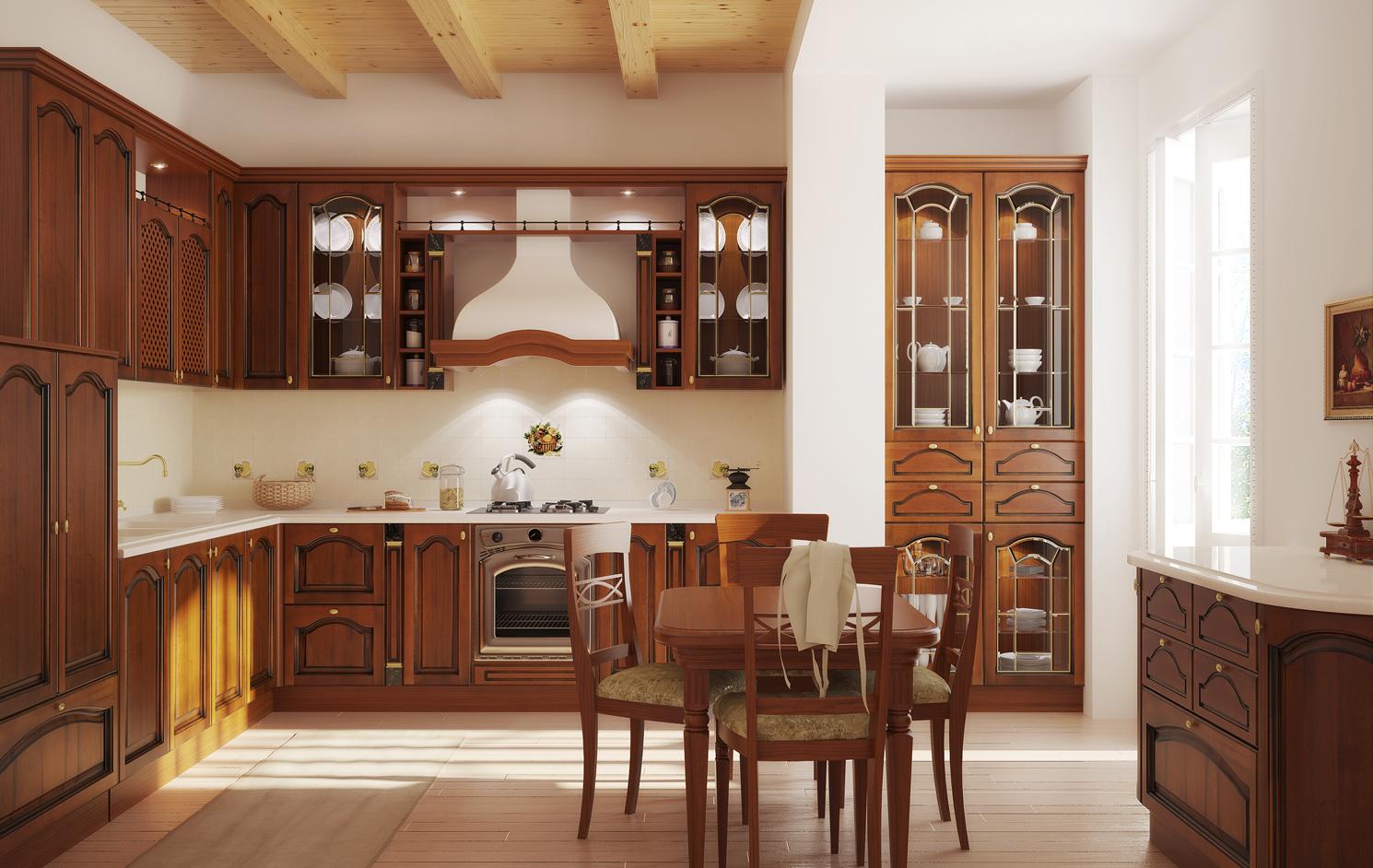 Мебель для классической кухни