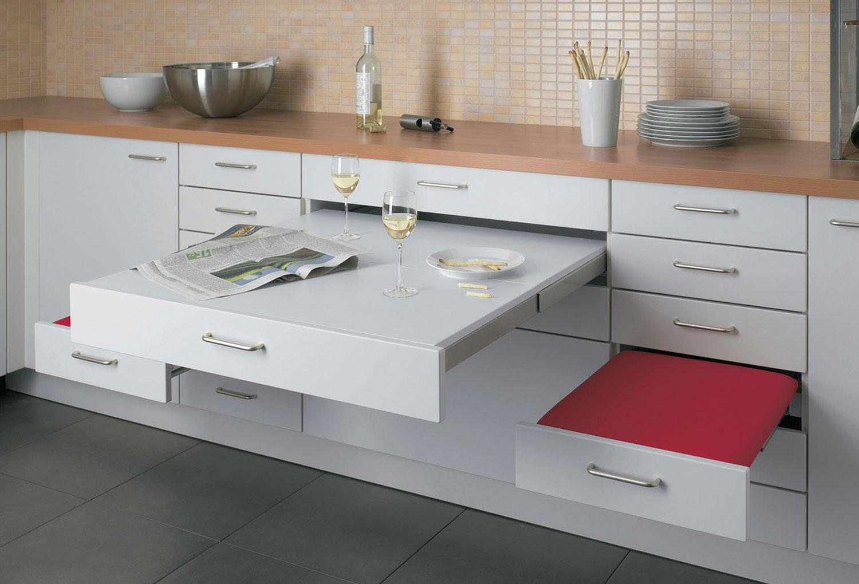 Мебель-трансформер для маленькой кухни
