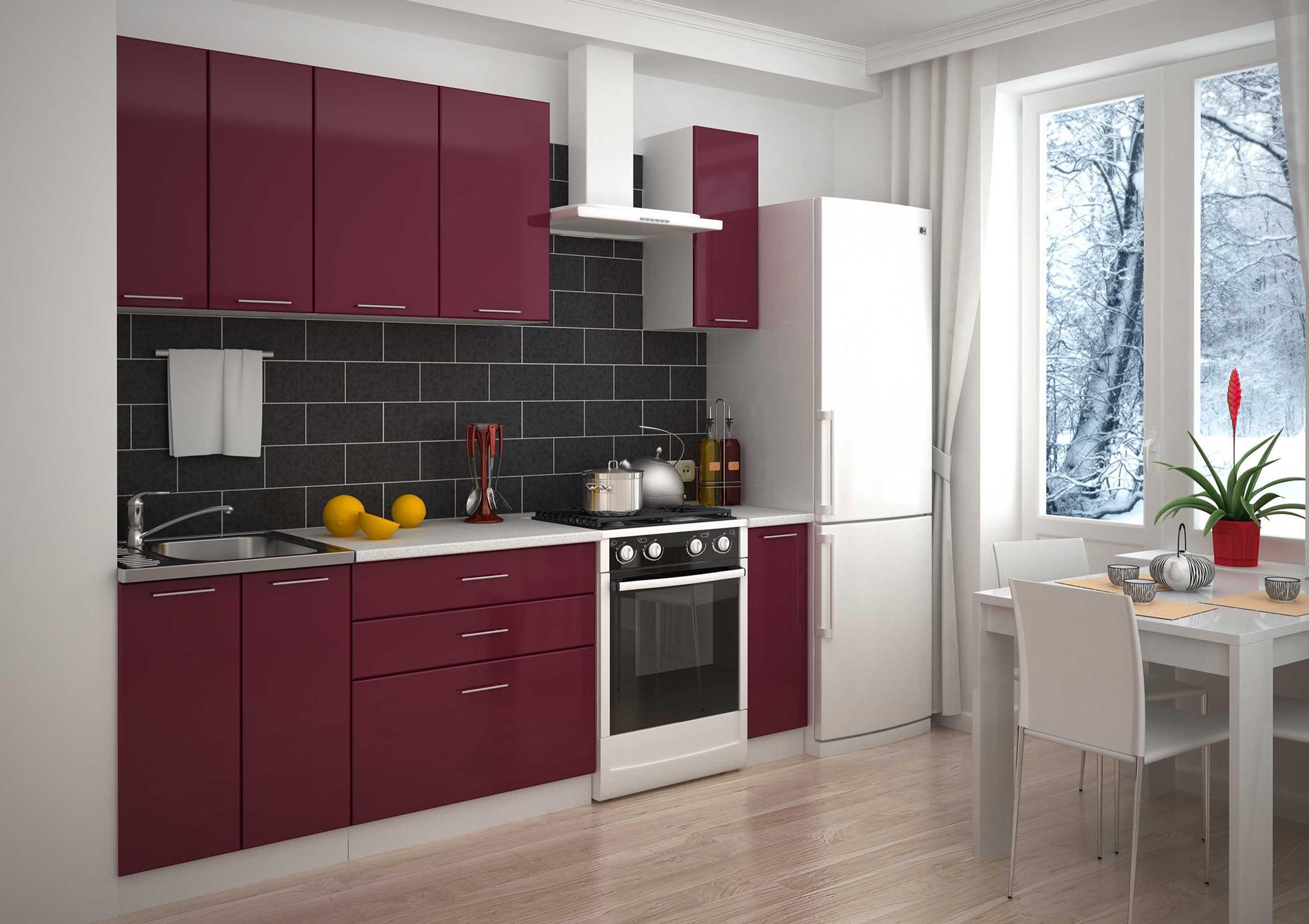 Модульный гарнитур на кухне