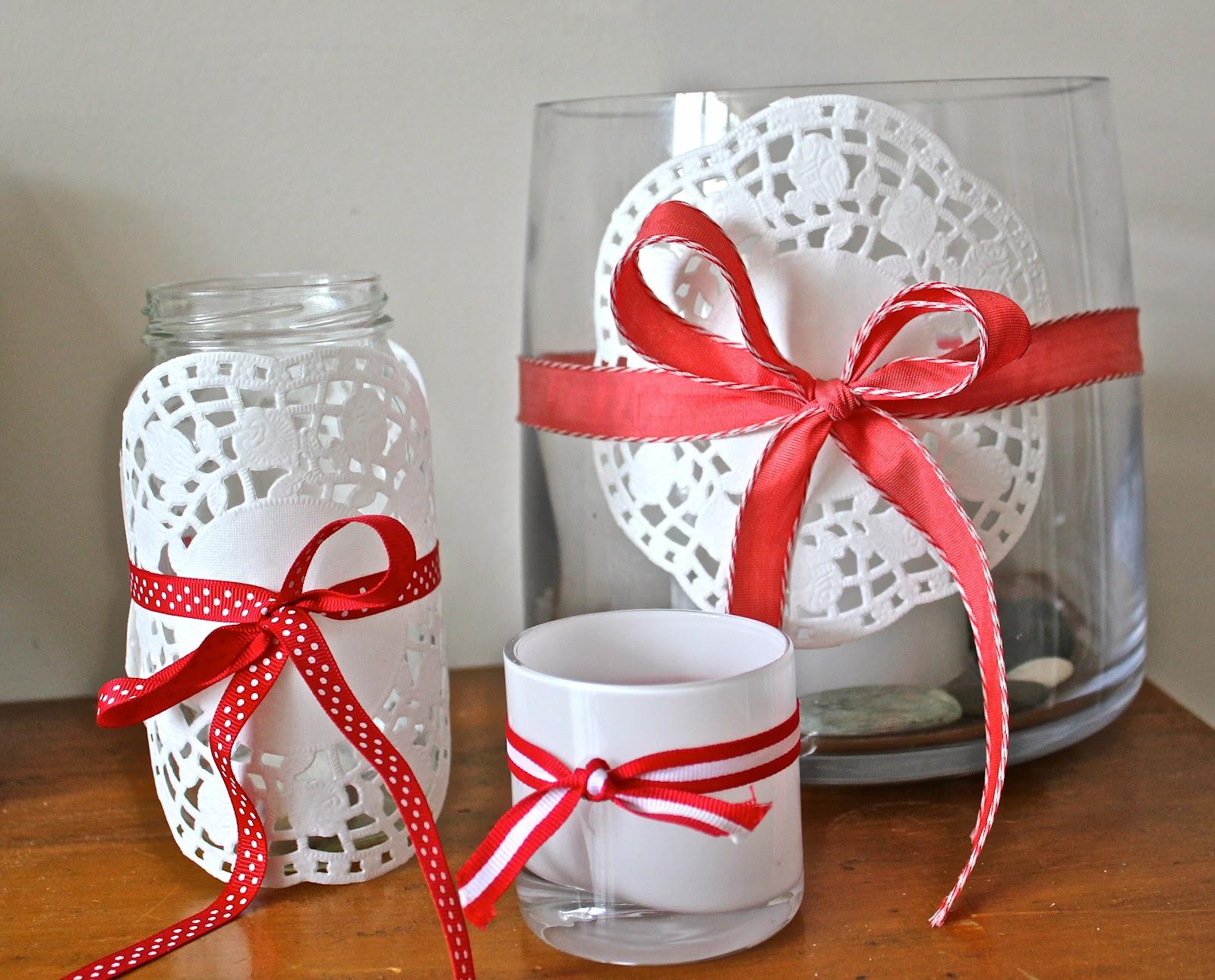 Декор вазы салфеткой