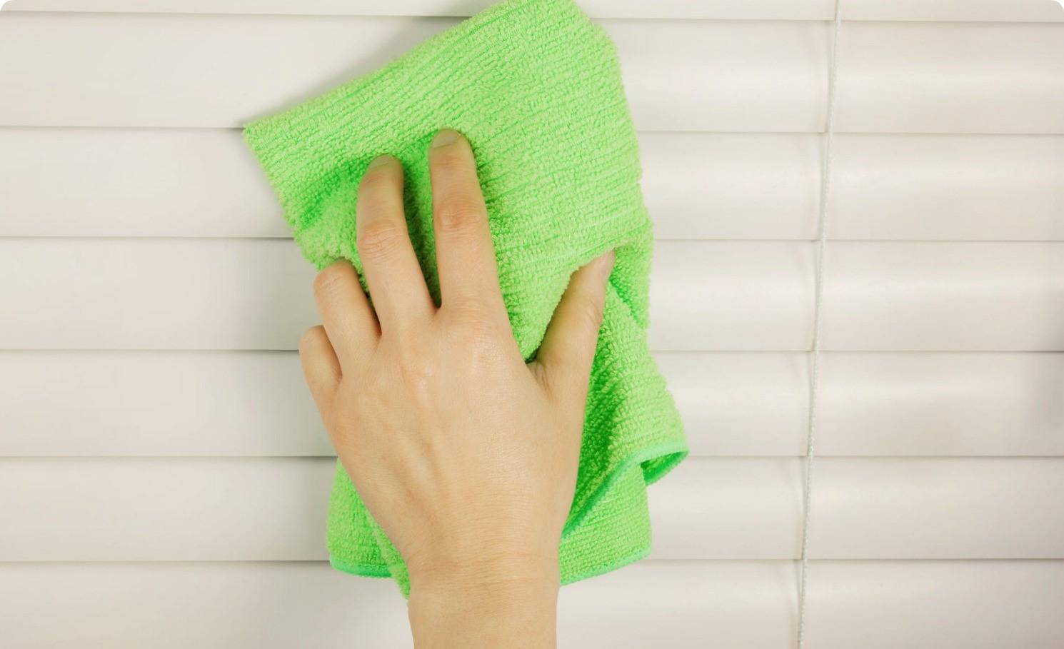 Как качественно помыть жалюзи в домашних условиях
