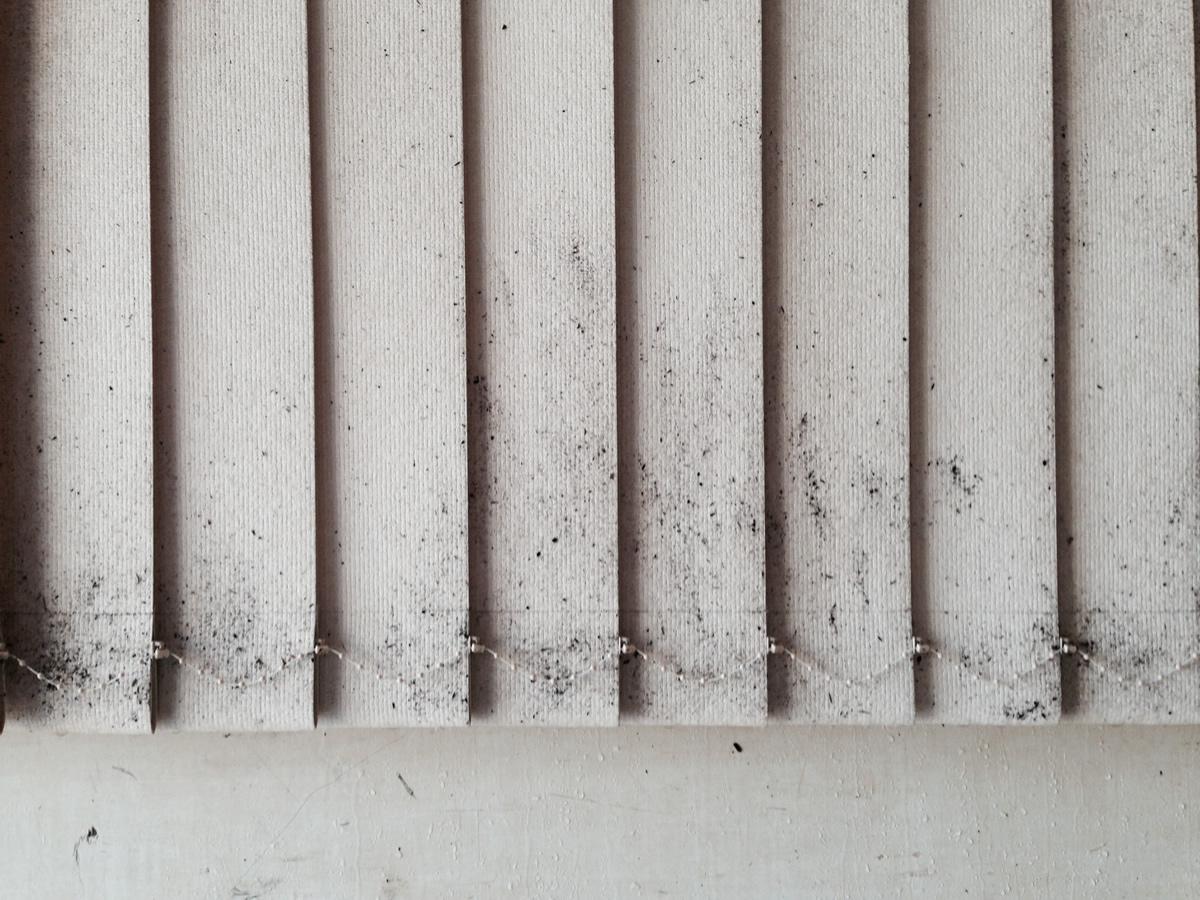Как почистить вертикальные жалюзи из ткани