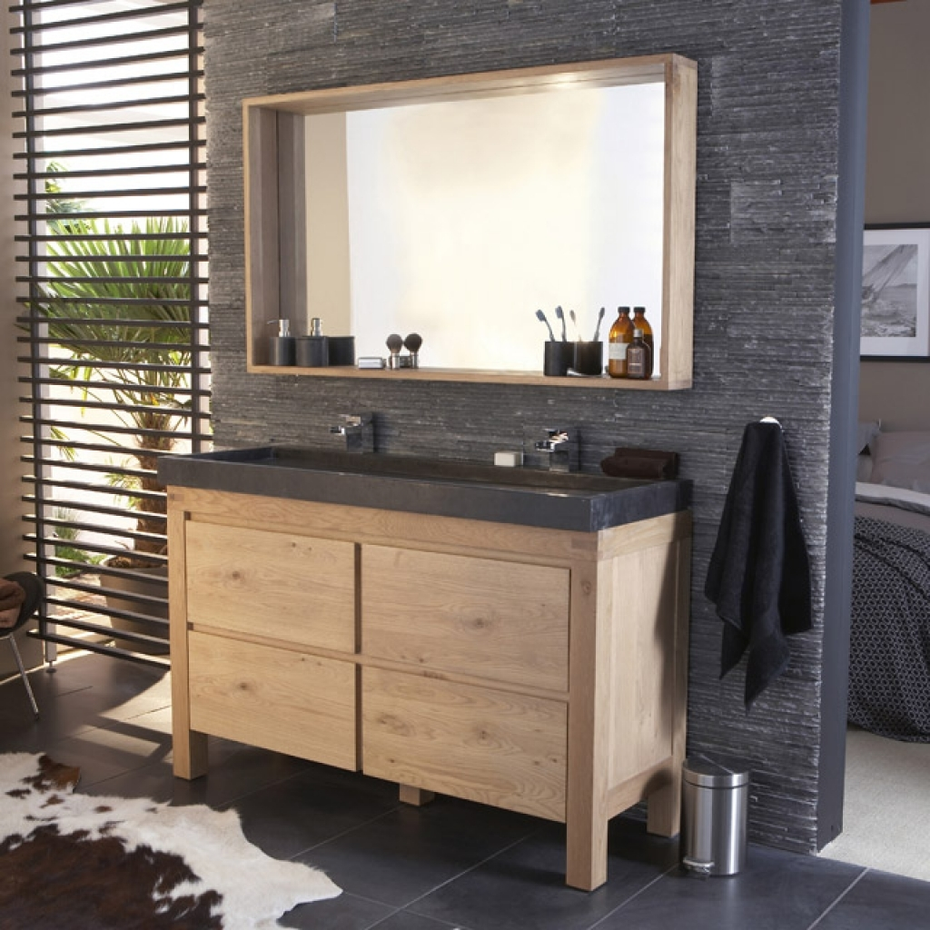 Шкафчик для ванной деревянный