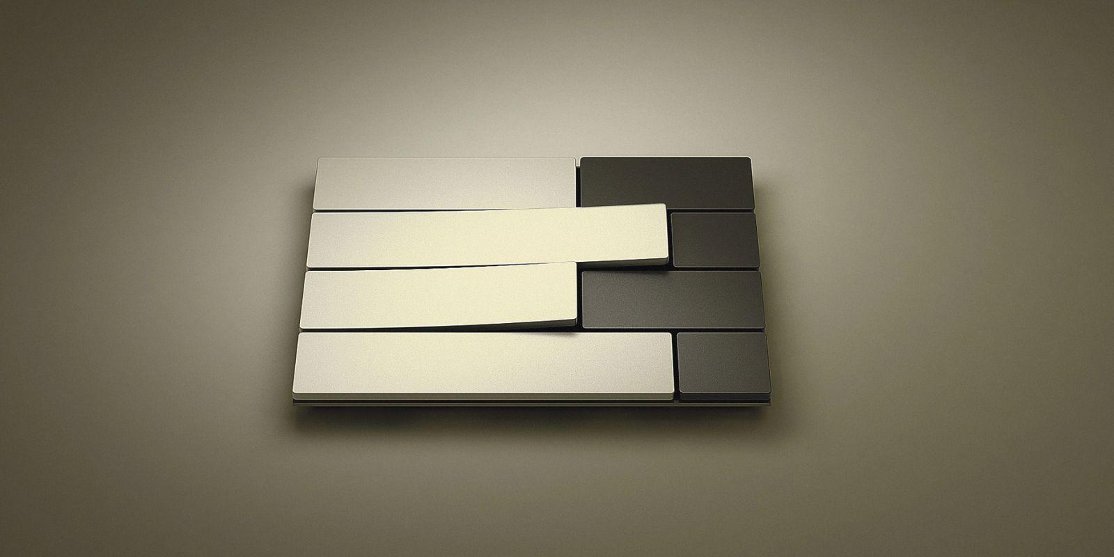 Дизайнерский стальной выключатель