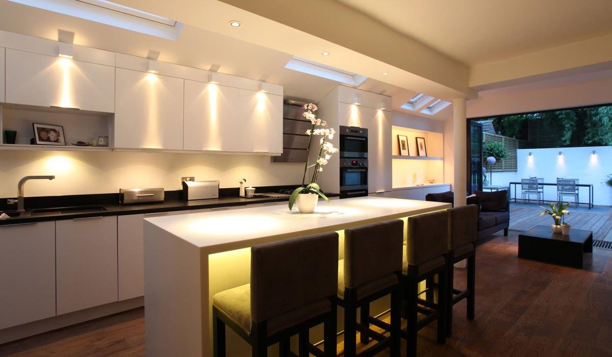 Подсветка кухонного гарнитура LED