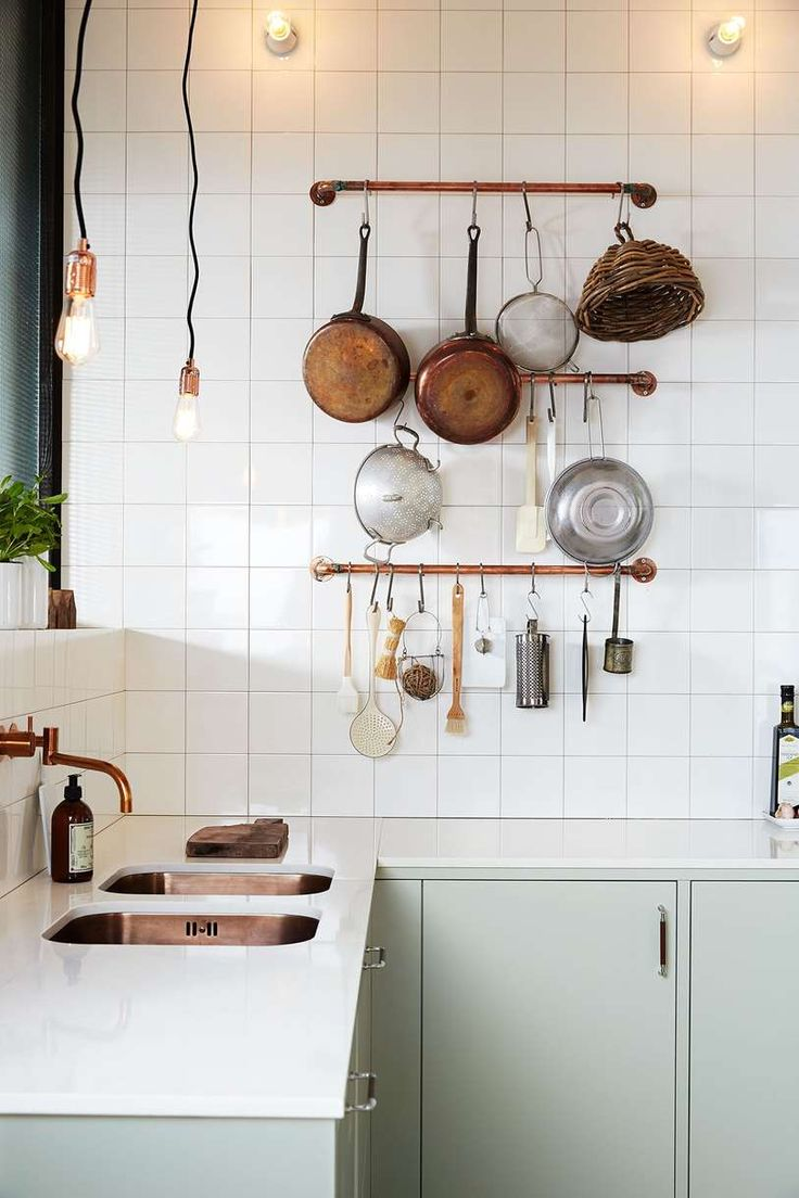Подсветка кухонного гарнитура лофт