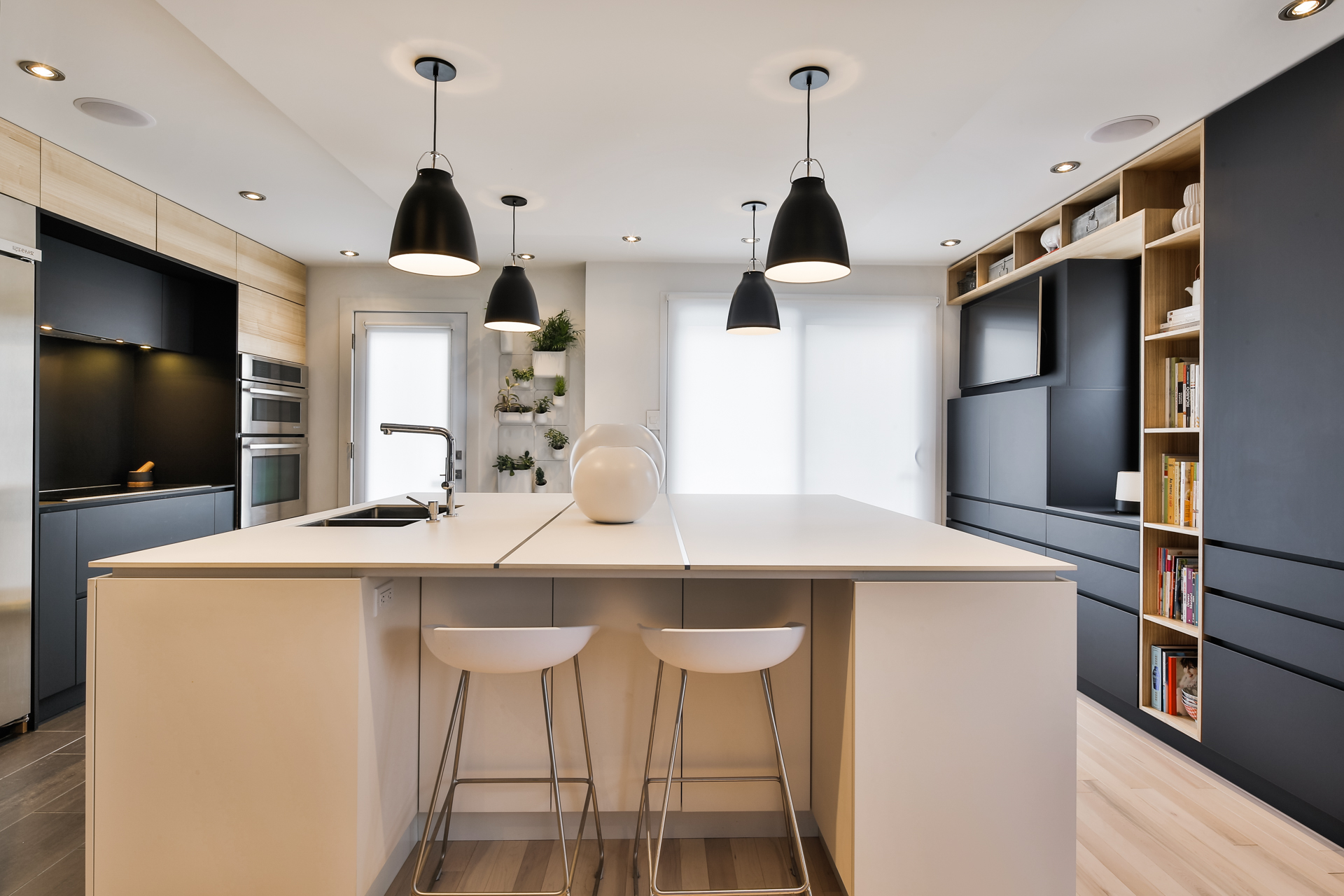 Подсветка кухонного гарнитура модерн
