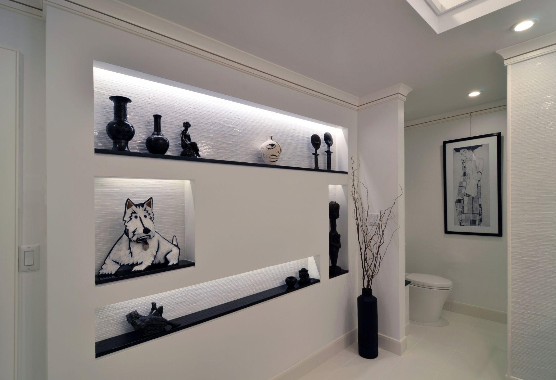 Дизайн ниши в ванной комнате