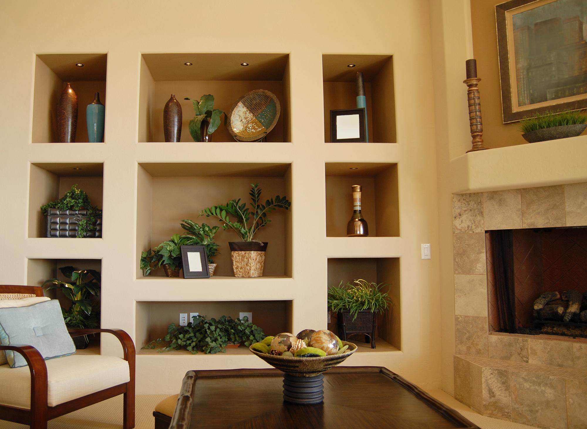 Оформление ниши в стене (61 фото): варианты украшения интерьера
