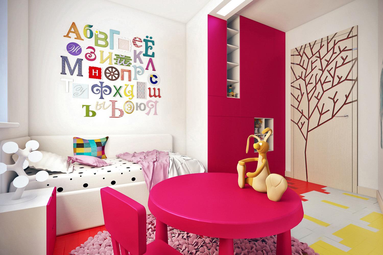 Ниша в детской комнате