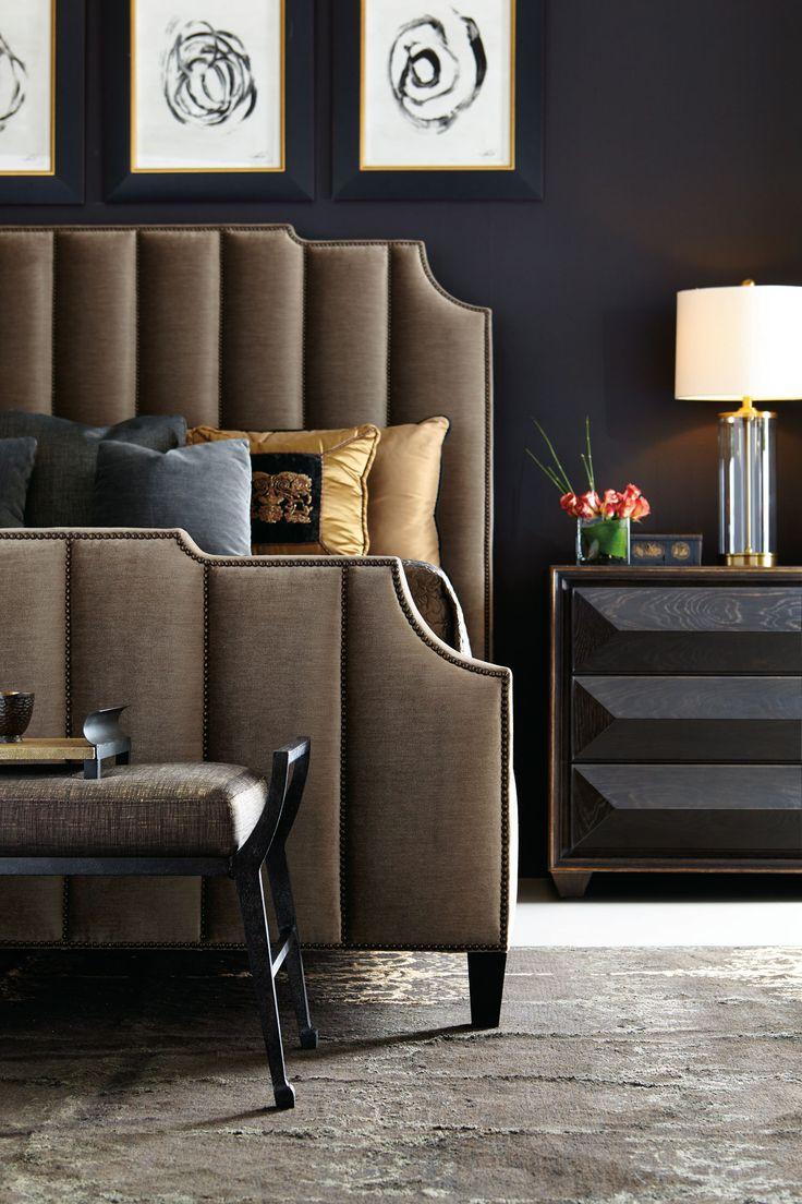 Коричневая обивка мебели