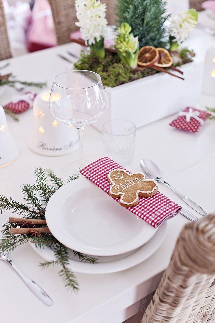 Украшение новогоднего стола 2018 печеньем