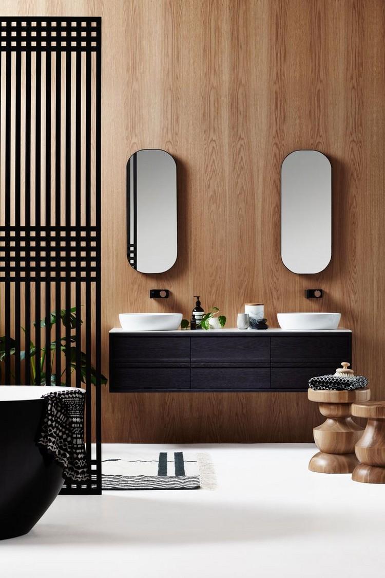 Шкафчик для ванной подвесной