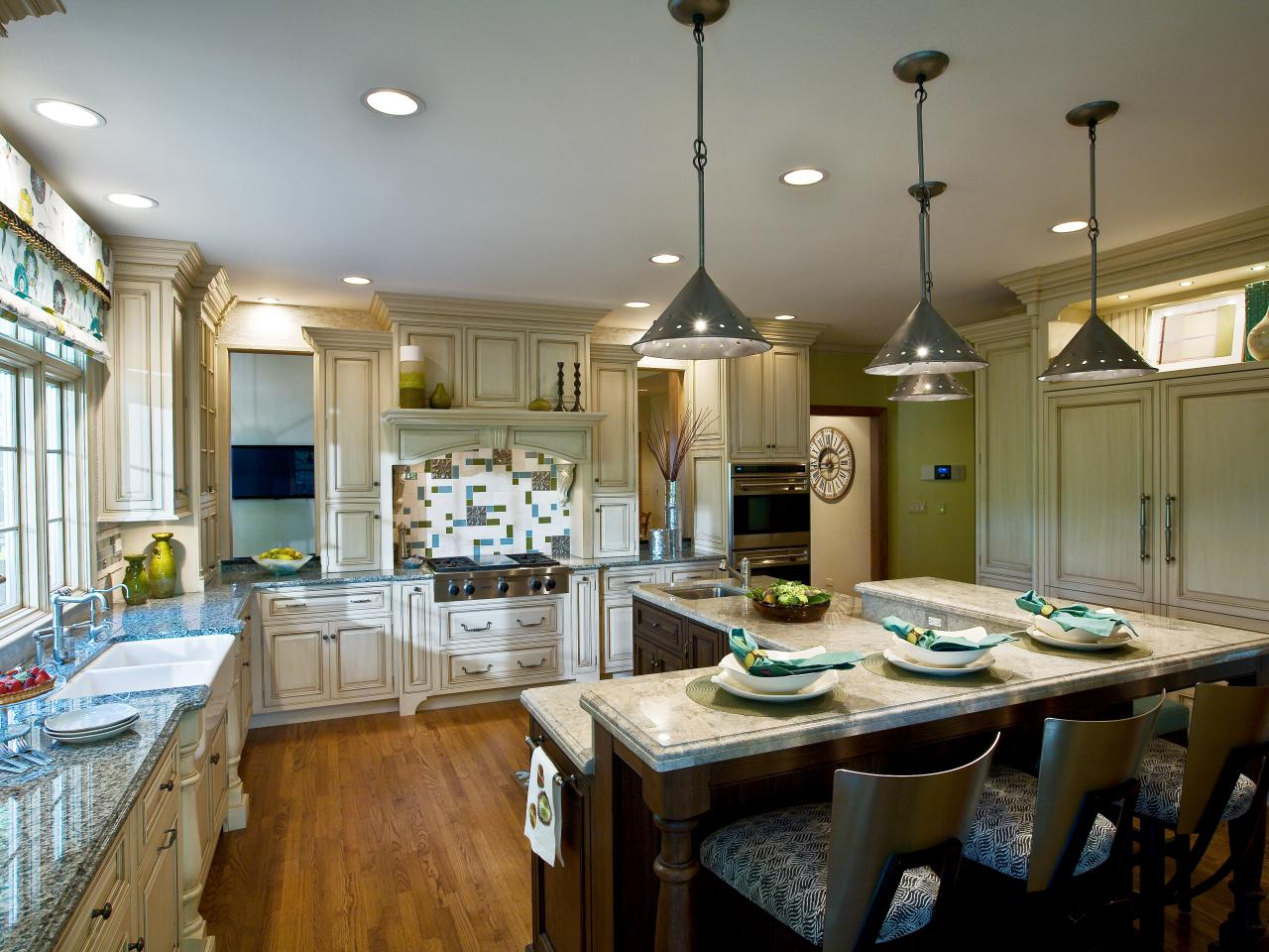 Подсветка кухонного потолка
