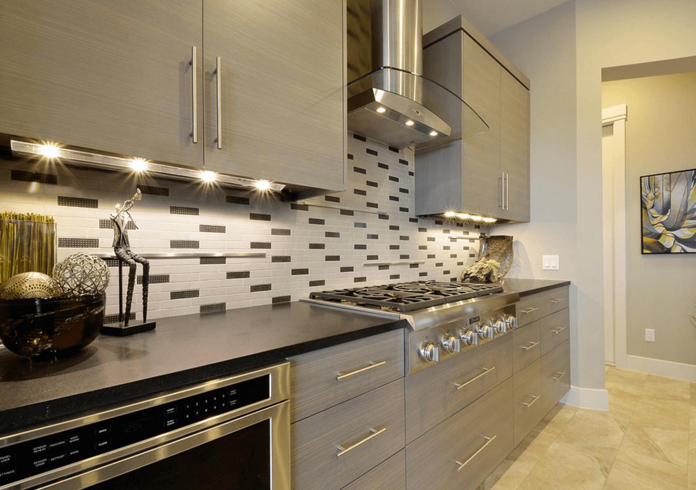 Подсветка кухонного гарнитура скрытая