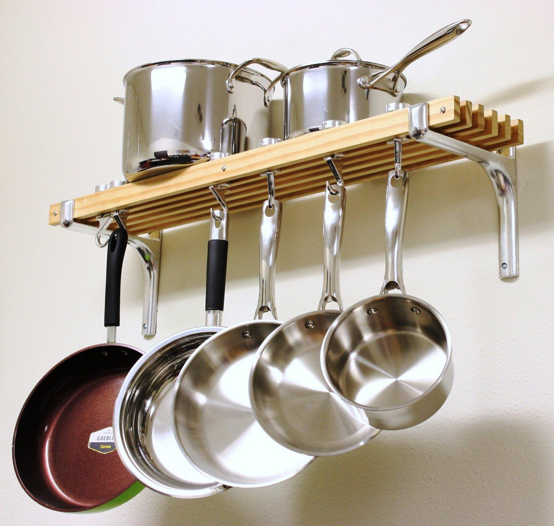 Рейлинг для кухни деревянный