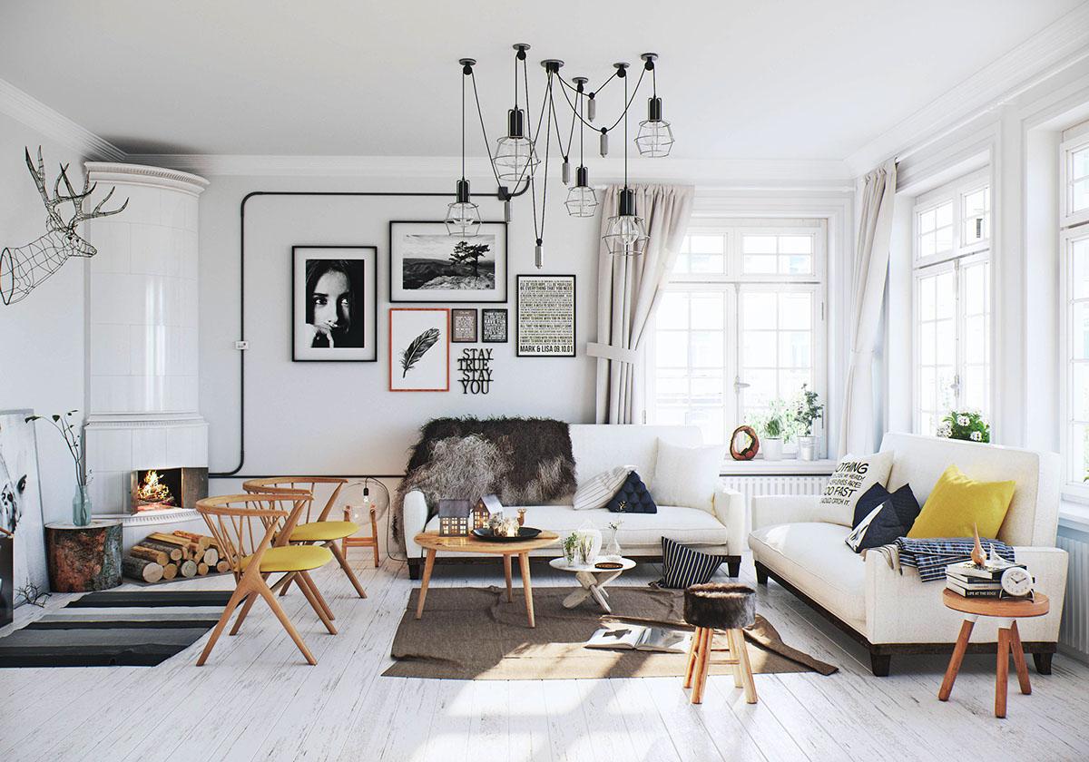 Тренды в дизайне интерьера 2019 гостиной