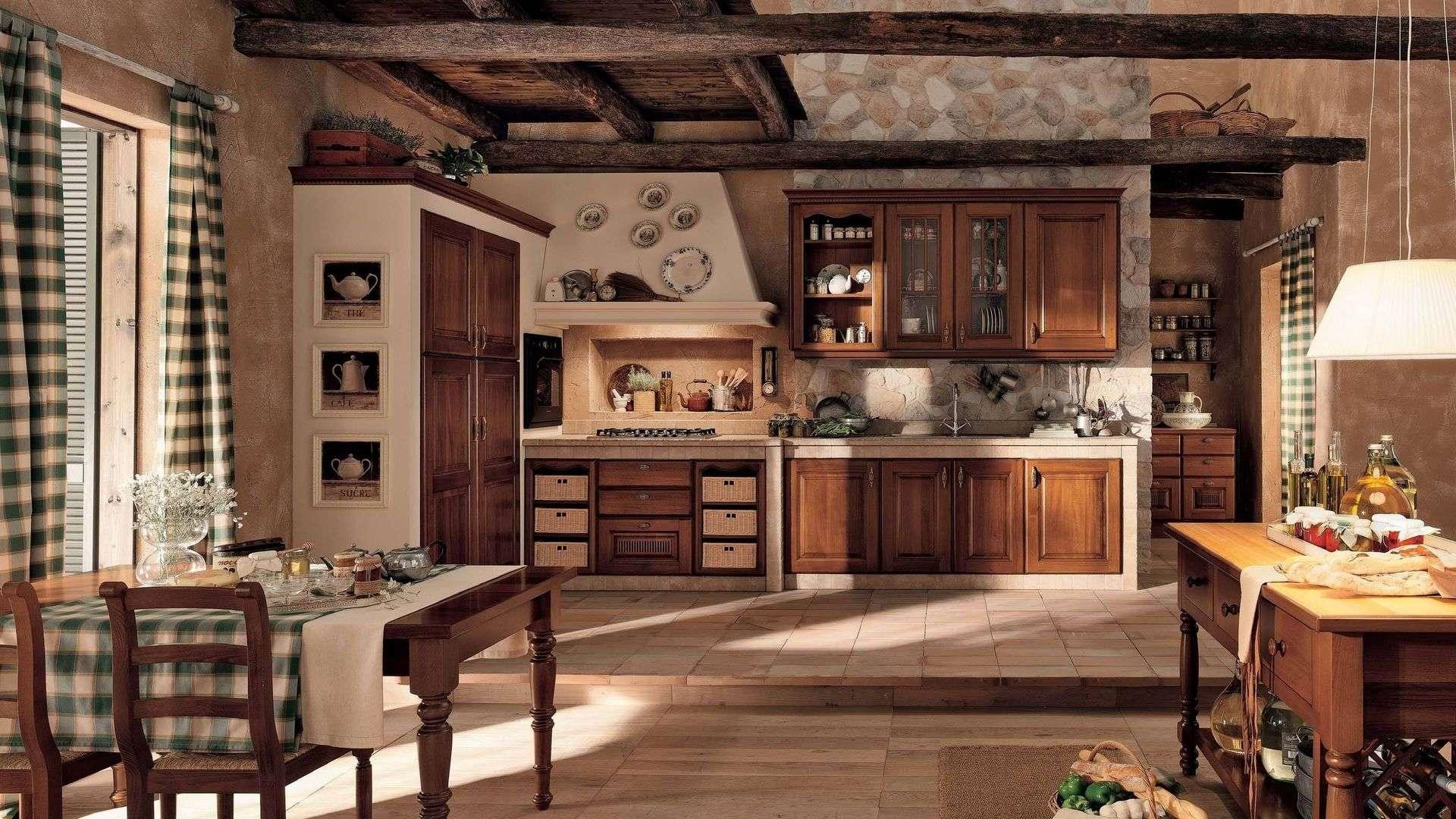 Искусственный камень на кухне: несколько вариантов отделки (21 фото)