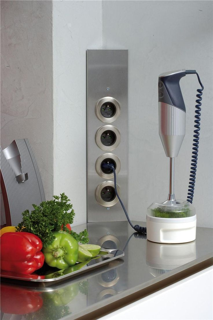 Укладка провода на кухне