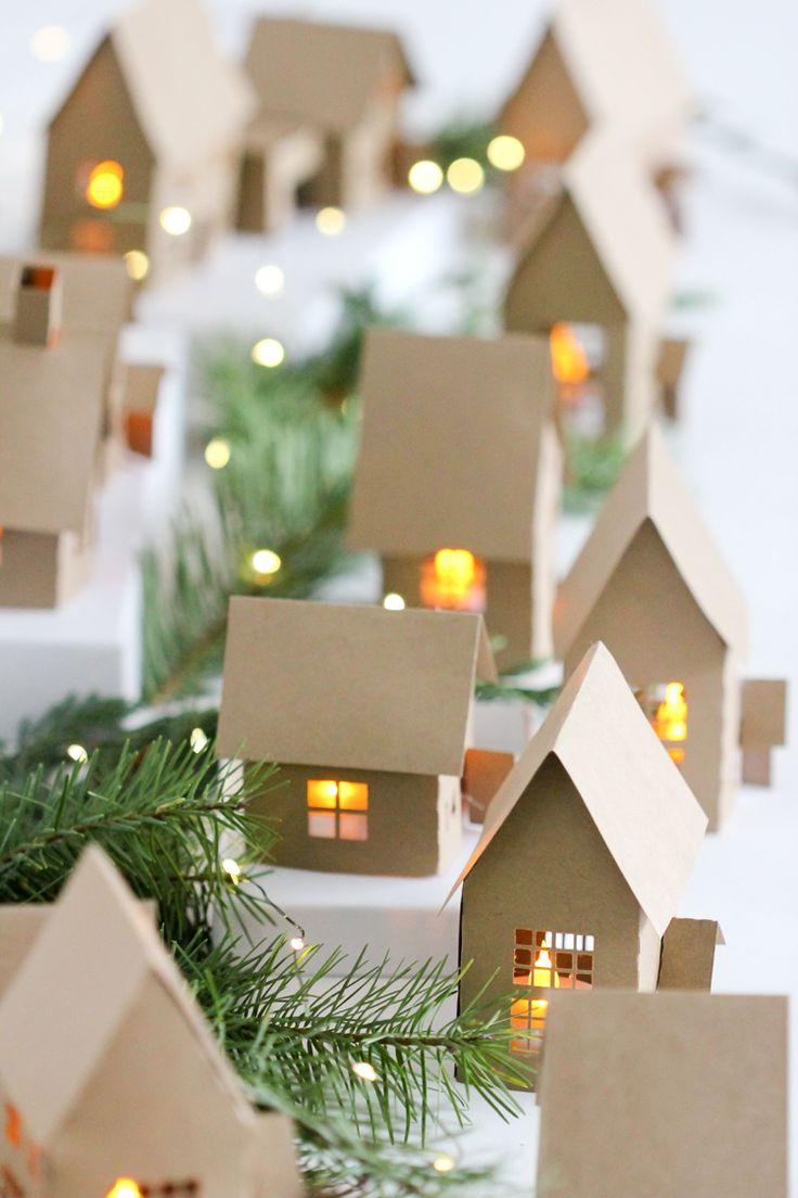 Новогодний декор из бумаги для дома
