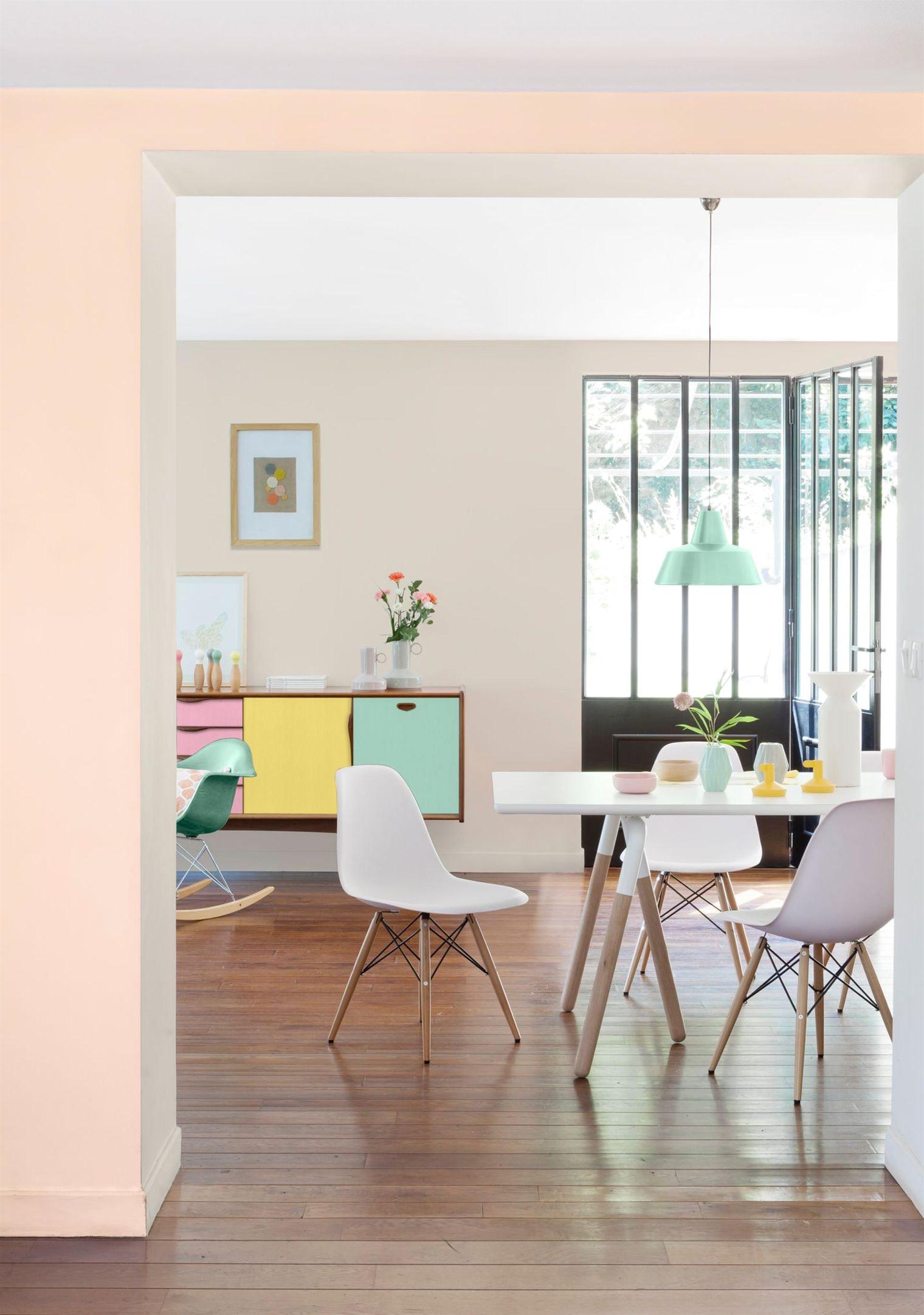 Тренды в дизайне интерьера 2017 в пастельных тонах