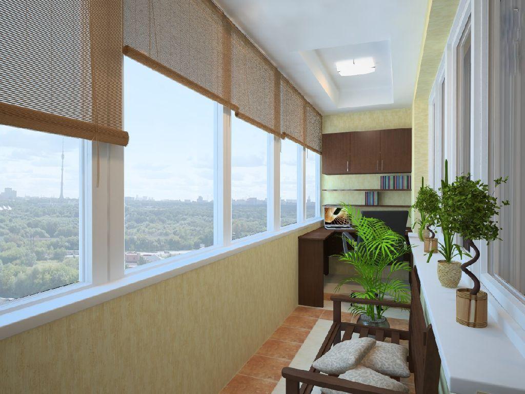 Шкаф на балконе