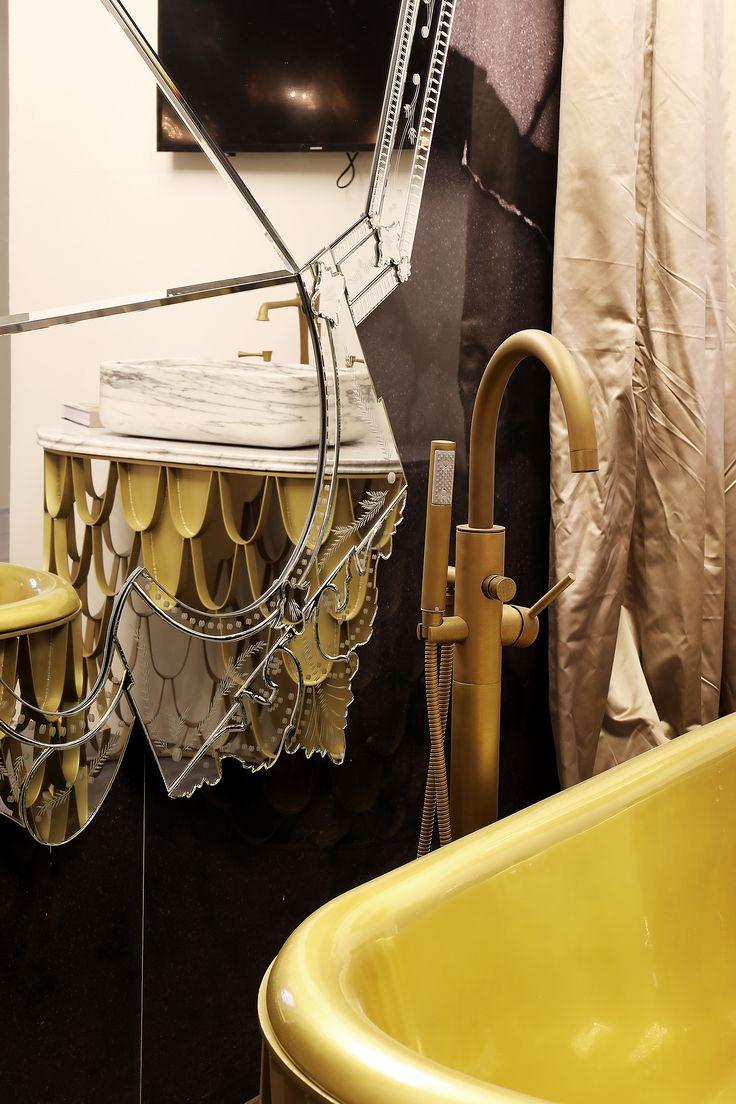 Тренды в дизайне интерьера ванной комнаты 2019