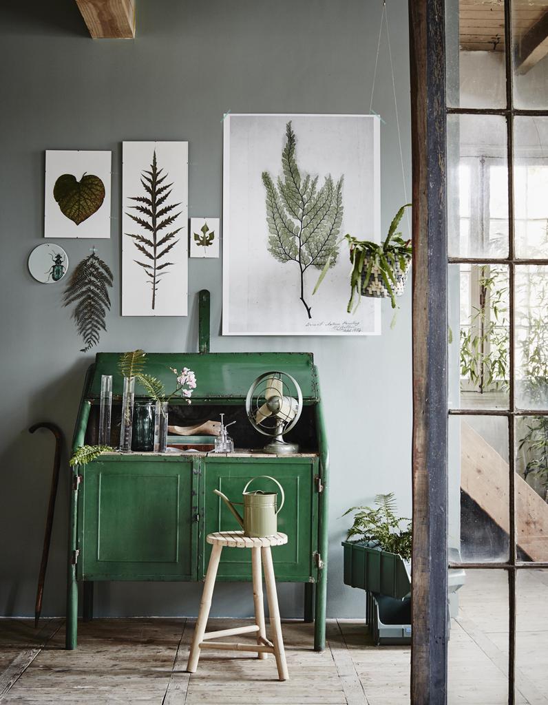 Тренды в дизайне интерьера 2017 зеленого