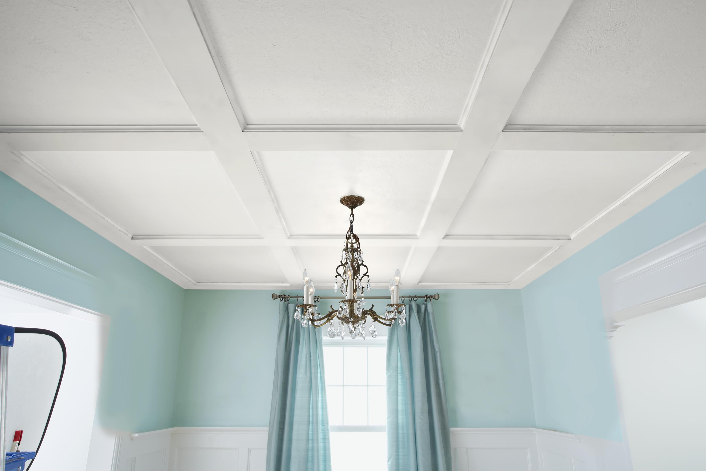 Оформление потолка в доме и квартире: особые секреты (39 фото)