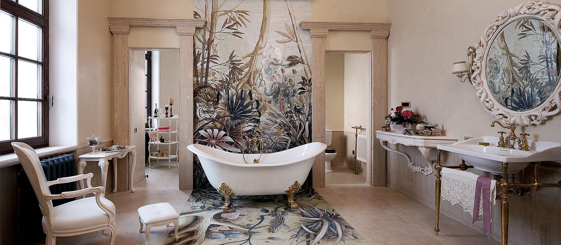 Трубы в ванной