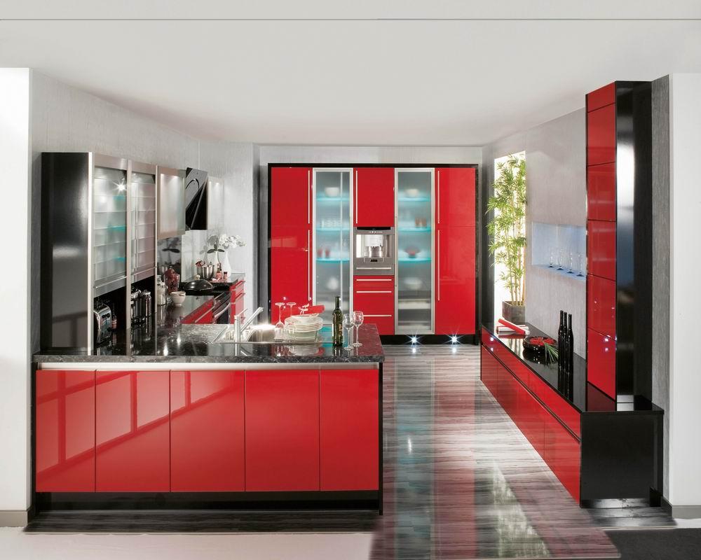 Глянцевая кухня