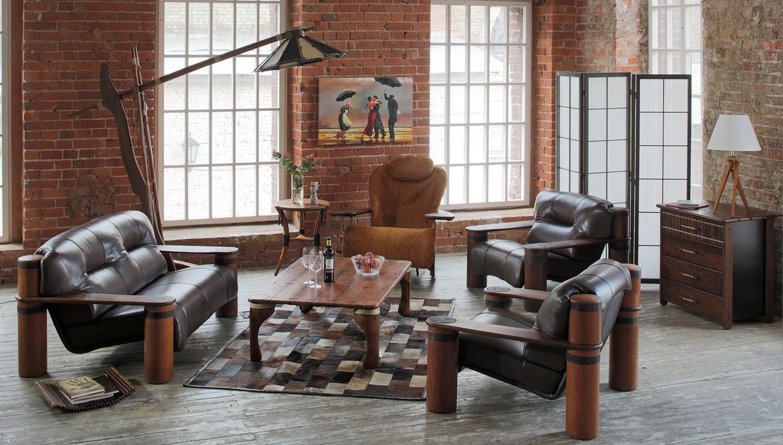 Мебель в стиле лофт – индустриальный шик (55 фото)