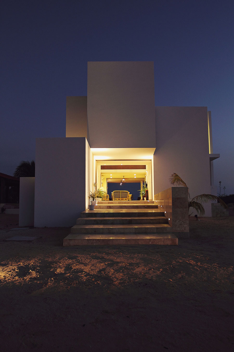 Подсветка фасада