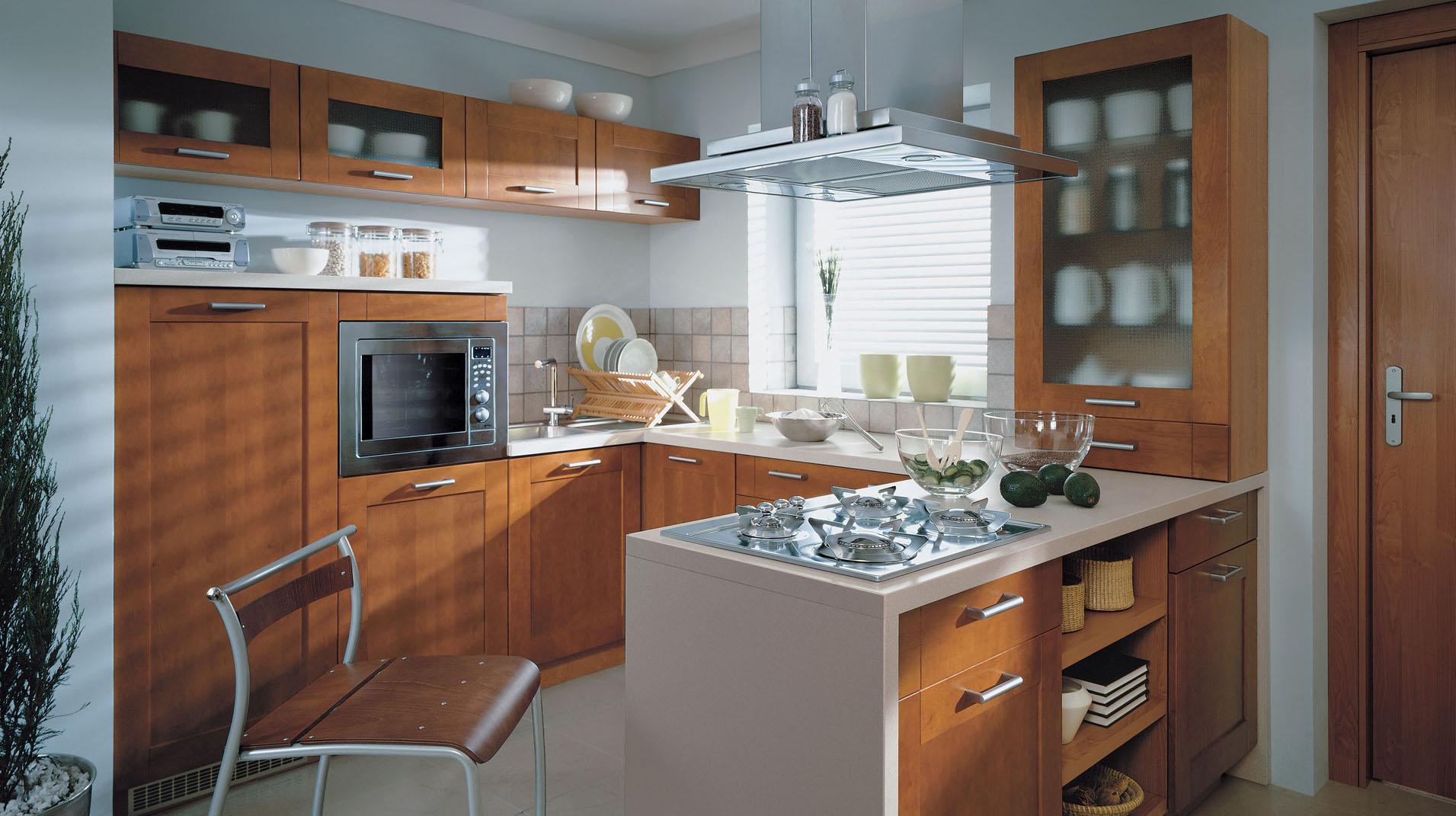 Функциональная и красивая кухня: cпособы расстановки мебели (25 фото)