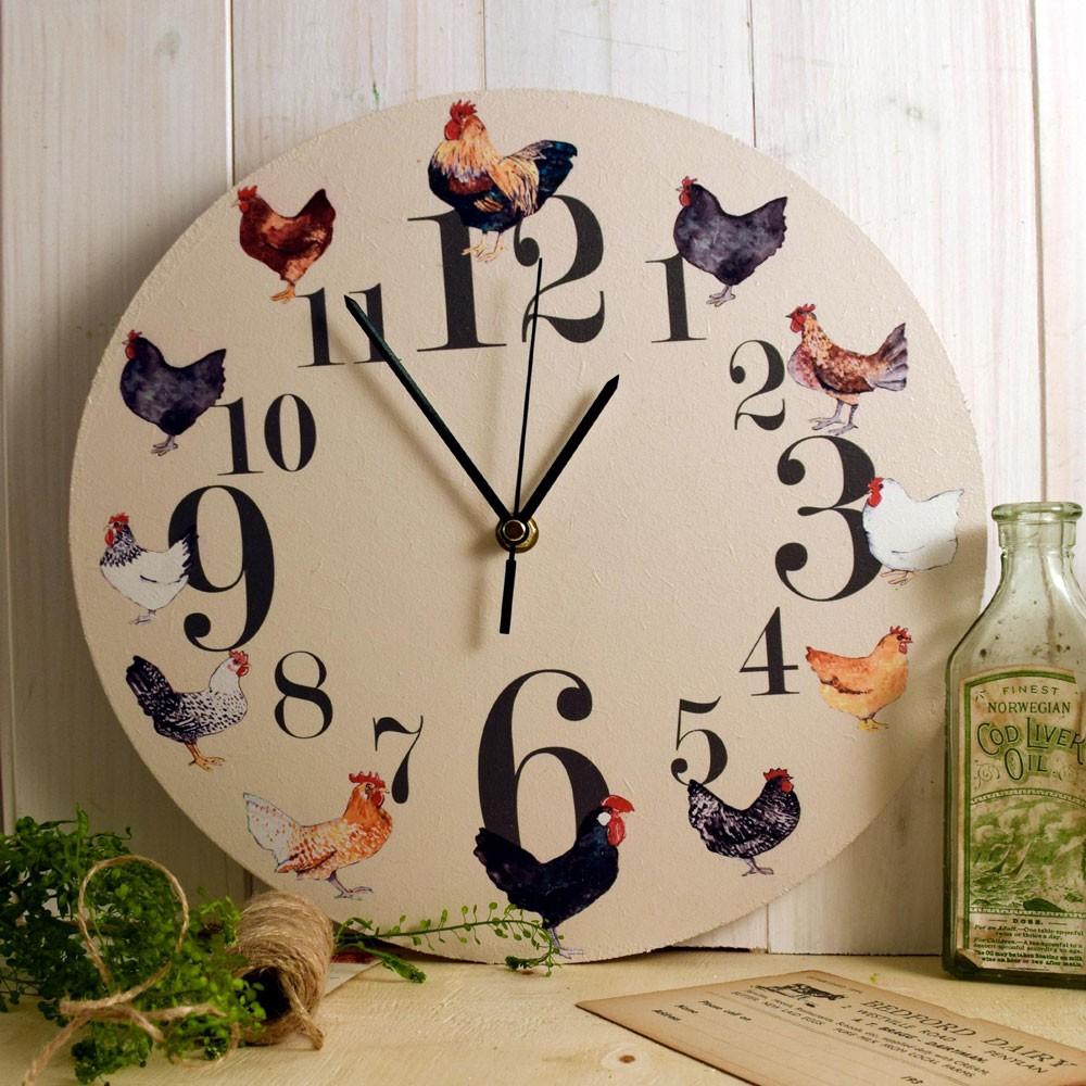 Выбираем часы на кухню: нескучный декор (27 фото)