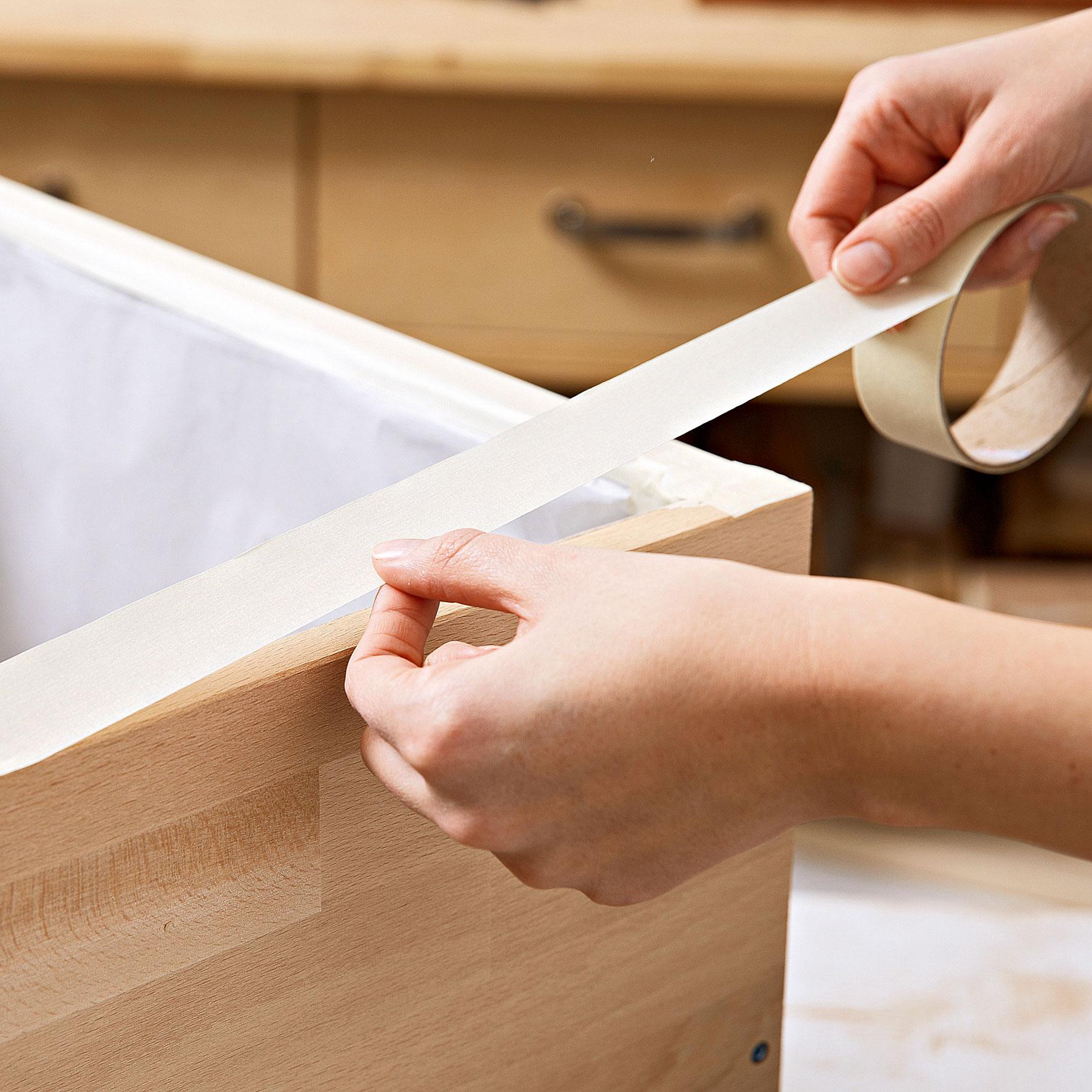 Реставрация мебели пленкой