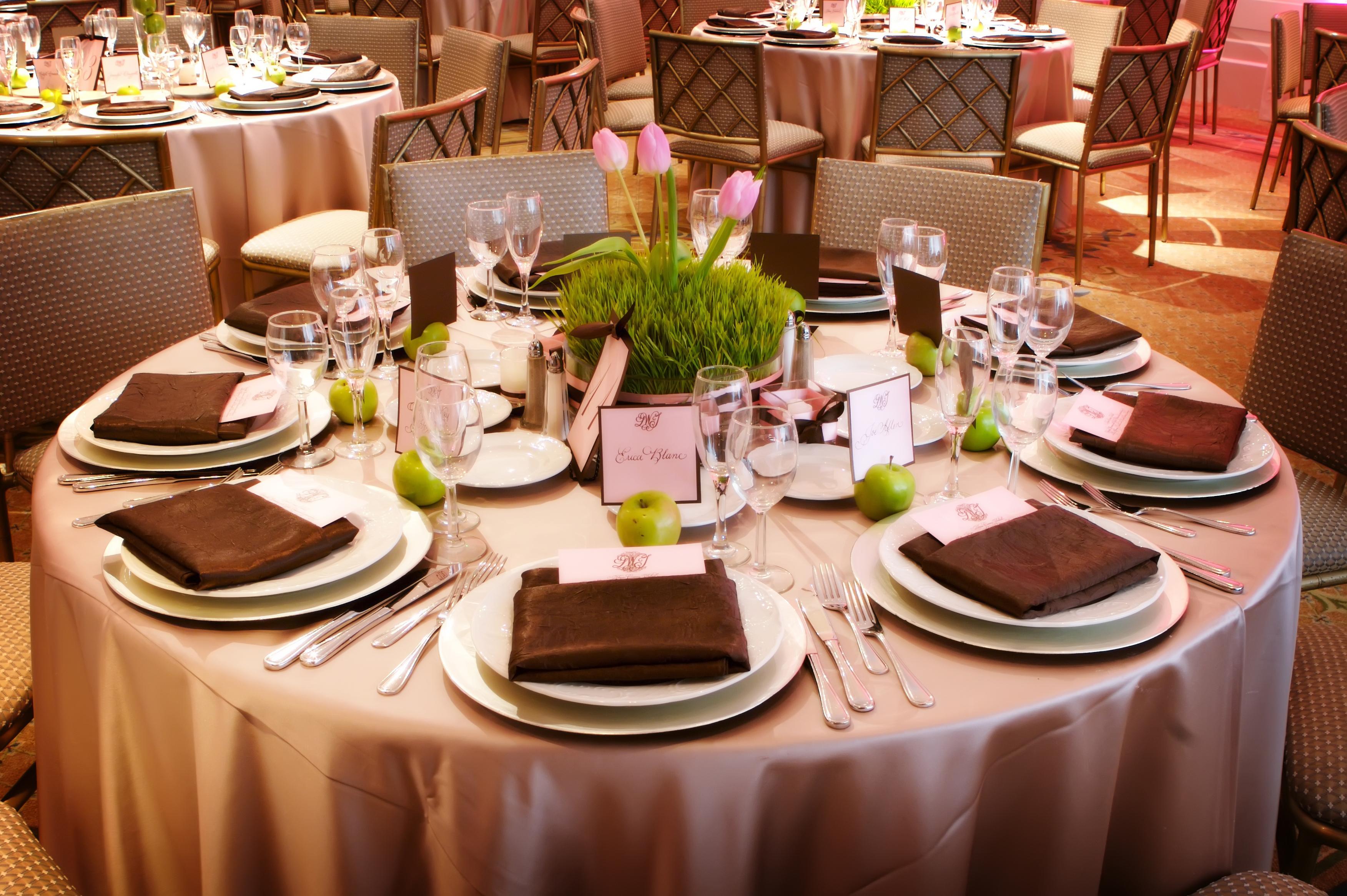Декор стола для гостй