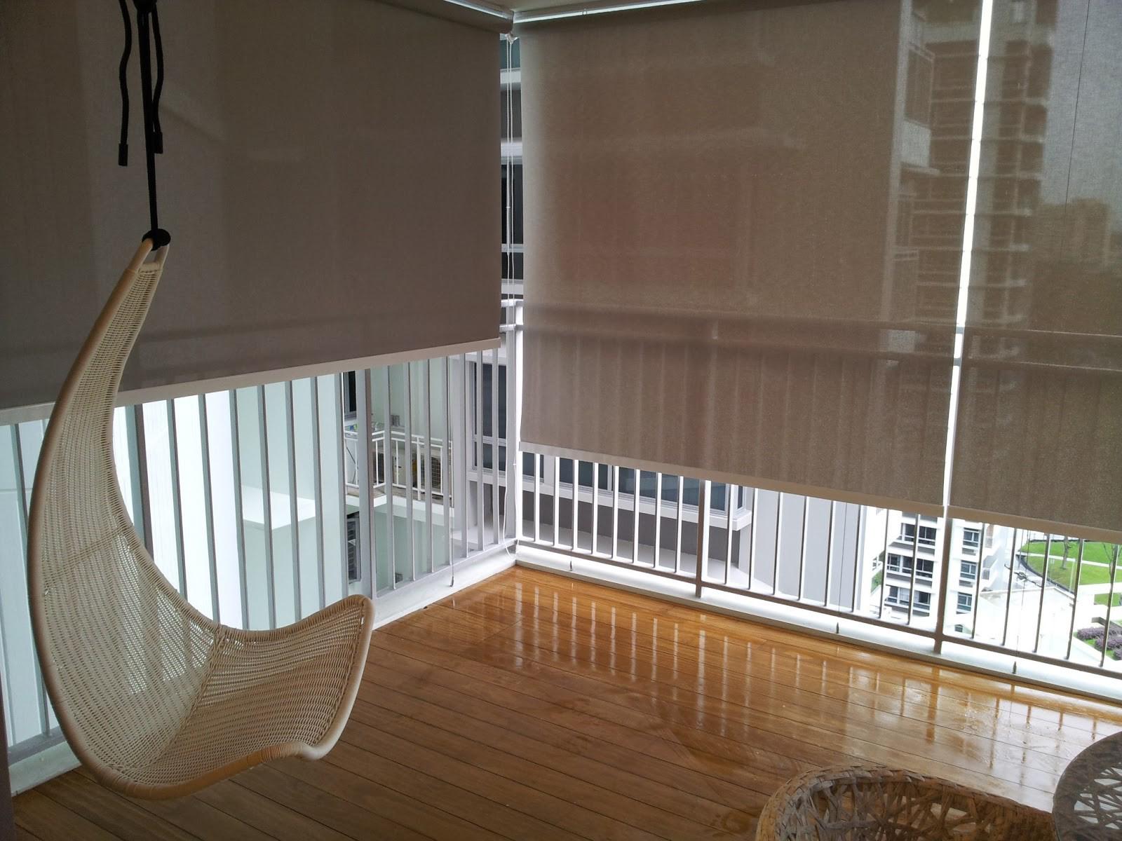 Жалюзи на балкон