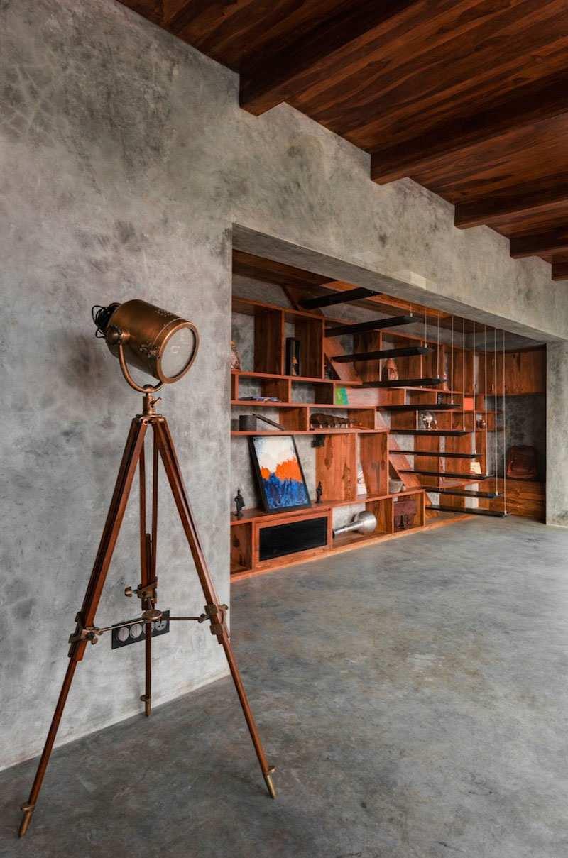Встроенная мебель лофт
