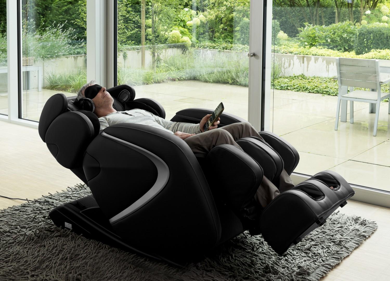 Массажное кресло с функцией антистресс