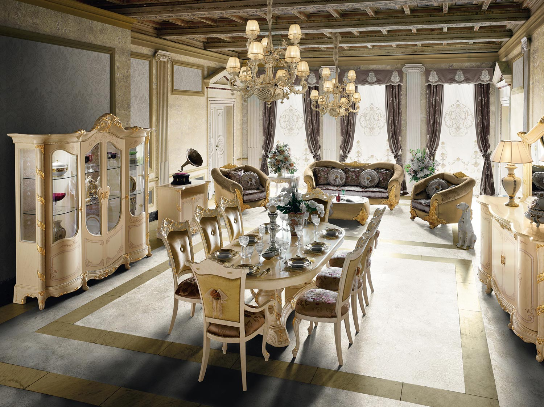 Столовый гарнитур в стиле барокко