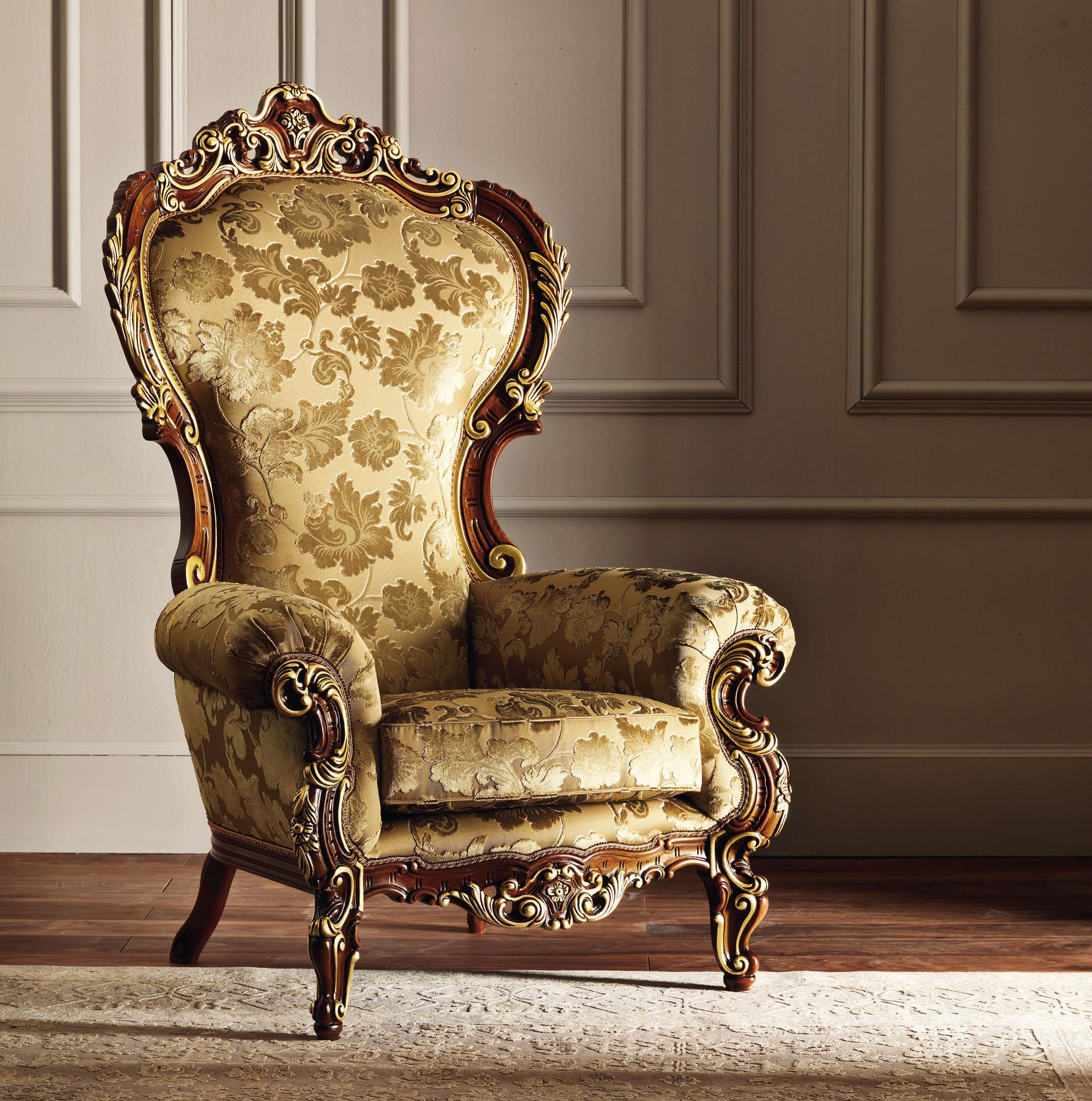 Кресло-трон в стиле барокко