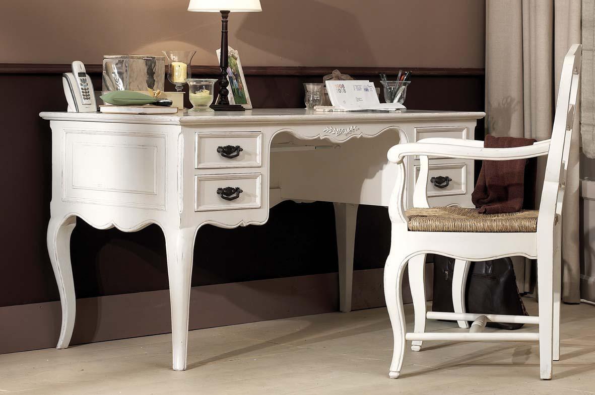 Белый стол-бюро
