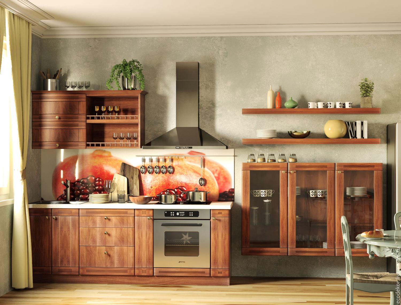 Кухонный гарнитур из массива березы