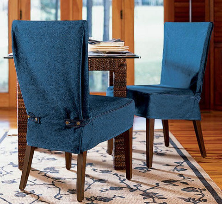 Текстильные чехлы на стулья
