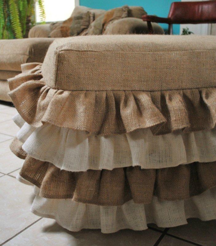 Чехлы для мебели из мешковины