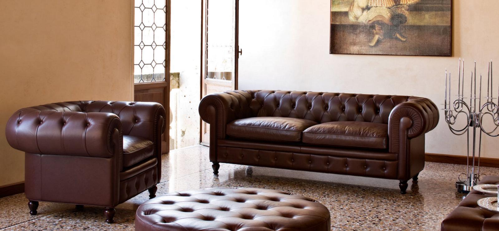 Классический диван честер